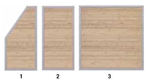 HoriZen Alu panelen verschillende panelen