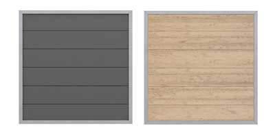 Betafence HoriZen composiet aluminium panelen