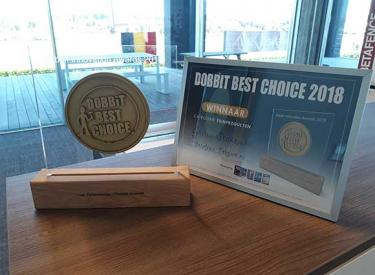 Betafence wint Dobbit Best Choice Award